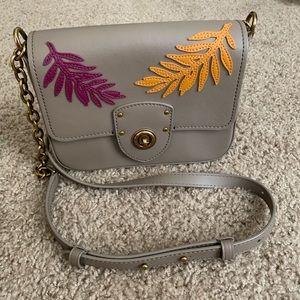 Ralph Lauren grey crossbody bag